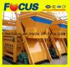 Popular Twin Shaft Concrete Mixer Js1000 50-60cbm/H, Electric Concrete Mixer Manufacturer