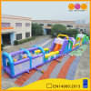 Long Colorful Inflatable Obstacle Course Inflatable Parcours (AQ01615)
