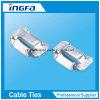 201 304 316 Stainless Steel Ear-Lock Banding Buckle