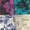 Lotus Leaf Jacquard Wool Fabric Ready