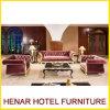 Royal Living Room Wedding Velvet Sofa for Hotel Lobby Furniture