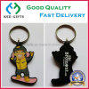 Double Sided 3D Cute Logo Rubber/Plastic/Soft PVC Key Chain for Promotion