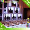 Illuminated RGB Color Changing Commercial Wine Rack Cube Wine Shelf