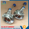 SMS 316L SS Welding Butterfly Valve with 4 Positions Handle