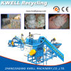 Plastic Water Bottle Recycling Line, Pet Flakes Hot Washing Machine
