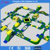 High Quality Inflatable Floating Island Water Park Games