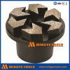 5 Arrow Segments Diamond Metal Grinding Plug for Concrete