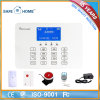 Wireless GSM Fire Alarm Sounder Panel with 8 Remote Control