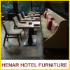 Chinese Restaurant Furniture Dining Room Table and Fabric Chairs and Sofa Booths