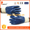 Ddsafety 2017 Blue Nitrile Fully Coating Work Glove