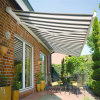 Motorized Aluminum Retractable Awning Toldo for Window