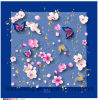 Fashion Custom Printed Square Decorative Head Silk Scarf