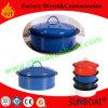Kitchenware Carbon Steel Mini Enamel Stock Pot