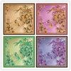 Custom Digital Printing 100% Silk Scarves (F13-0006)