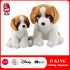 Big Eyes Angry Plush Puppy Toy Dog