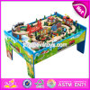 New Design Preschool Children Activity Toys Wooden Train Table W04c069