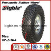 Various Metal Types Dimensions of Rubber Wheel Barrow