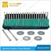 Dental Diamond Burs Flat-End Tapered Medium Fg