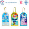Embroidery Luggage Tags with Sublimation - Keep Calm