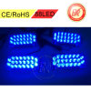 88 LED Flashing Strobe Recovery Grill Lights Blue Grill Warning Head Strobe LED