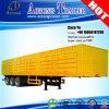 3 Axles Cargo Enclosed Box Type Van Semi Trailer