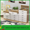 Combination Wood Chest of Drawers for Home Use
