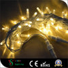220V Connectable Rubber String Lights for Christmas Decorations