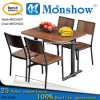 Soild Wood Dining Table with Chairs, Hot Sale From China