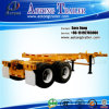 20ft-40ft Extendable Sliding Frame Skeleton Container Trailer Chassis