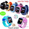 Touch Screen 1.22inch Kids GPS Watch Tracker for Promotion Gifts (D15)
