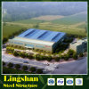 Low Cost Factory Workshop Steel Building / Design Steel Structure Factory
