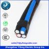 Overhead Line Cable Triplex Quadruplex PE/XLPE Insulation