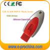 Unique Style Promotional 16GB Plastic USB Flash Memory Push Button USB Flash Drive (EP100)