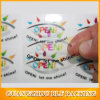 Clear PVC Waterproof Adhesive Sticker