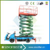 8m Electric Hydraulic Mobile Truck Mounted Scissor Lift Workshop