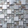 Crystal Mixed Stainless Steel Mosaic, Crystal Mosaic Decoration, Decoration Material