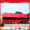 3 Axles Tractor Hydraulic Dump Trailer with Side Dumper