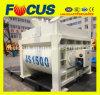 Double Shaft Electric Concrete Mixer, Js1500 Forced Concrete Mixer