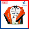Healong Customize Sublimation Fishing Shirts Dri Fit Fishing Wear