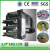 6 Color High Speed Helical Gear Flexo Printing Machine