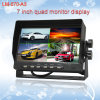 Digital 4 Split 7 Inch Quad Car Rearview Monitor