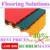 250*150*12.7mm Durable PP Interlock Flooring Mat for Sports Court