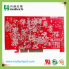 Printed Circuit Board_Red Mask Multilayer PCB with Gold Finger (2``)