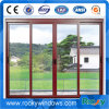 Rocky Quality Guarateed Double Tempered Glass Aluminum Window with Screen
