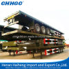 20FT 40FT Container and Cargo Carry Flat Form Semi Trailer