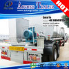 3-Axle Pitch Transport Tanker Truck Trailer with Insulating Layer
