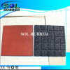 Wanderful Design Certificated Outdoor Bright Color Rubber Flooring