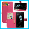 Lichee Design Flip Wallet Leather and TPU Case for Alcatel
