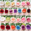 Beautiful Single&Long Stem Silk Rose Artificial Flowers Fake Rose Flowers