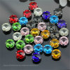 Diamond Rhinestone Factory Sew on Crystal Fancy Stone for DIY Clothing Accessories (SW-Rivoli 14mm)